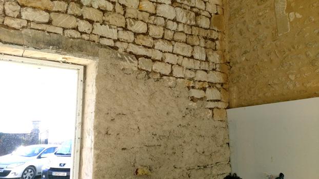 mur enduit chaux et chanvre
